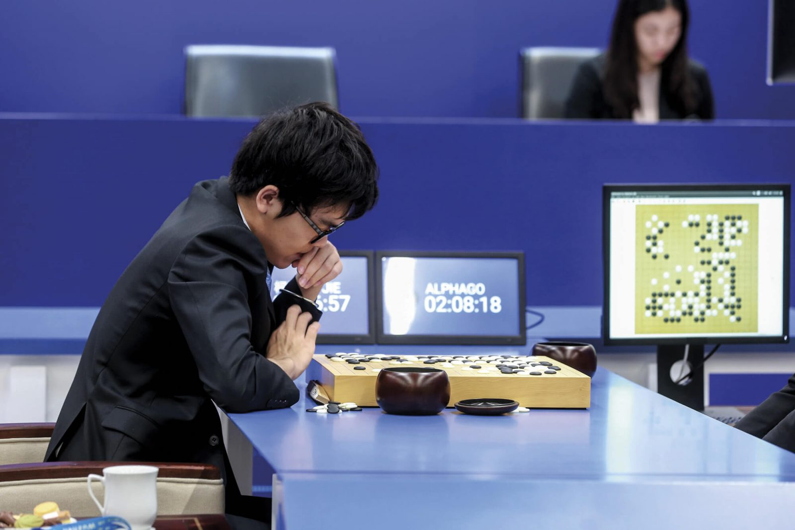Google's AlphaGo software beat South Korean Lee Sedol in a game of Go in 2016